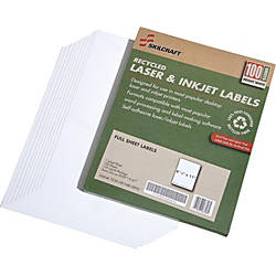 SKILCRAFT 100percent Recycled White InkjetLaser File