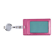DiVoga Metallic Pop Pink ID Badge