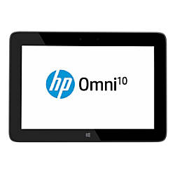 """HP Omni 10-5600US Tablet With 10.1"""" Touch-Screen Display & Intel® Atom™ Processor"""