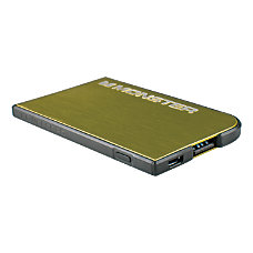 Monster Mobile PowerCard Portable Battery Green