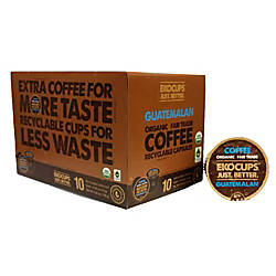 Ekocups Organic Coffee K Cup Pods