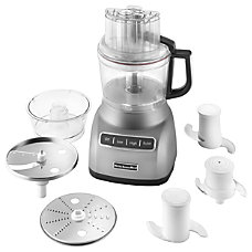 KitchenAid 9 Cup Food Processor Silver