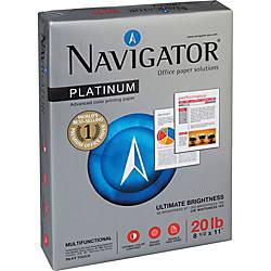 Navigator Platinum Office Multipurpose Paper Letter