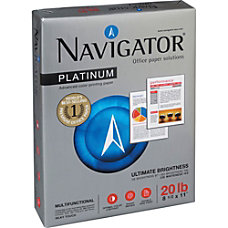 Navigator Platinum Office Multipurpose Paper Letter