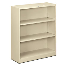 HON Brigade Steel Bookcase 3 Shelves