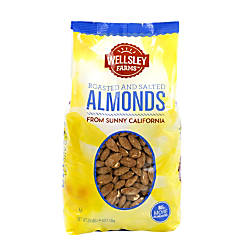 Wellsley Farm Roasted Salted Nuts Almonds