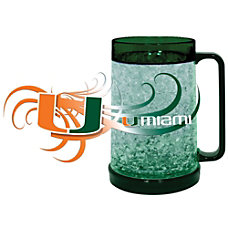 Hunter NCAA Freezer Mug Miami Hurricanes