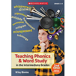Scholastic Teaching Phonics Word Study In