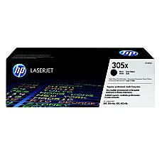 HP 305X High Yield Black Original