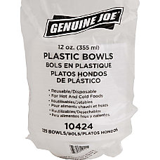 Genuine Joe ReusableDisposable 12 Oz Plastic
