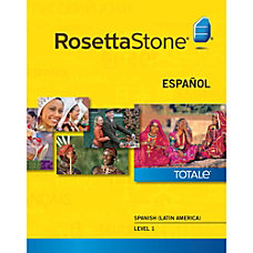 Rosetta Stone Spanish Latin America Level