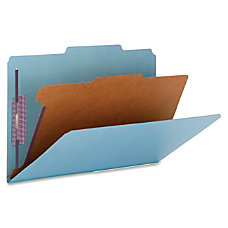 Smead Color 1 Divider Classification Folders