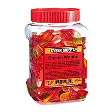 Cyber Sweetz Gummy Worm Tub 28