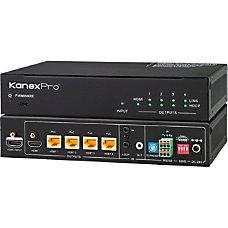 KanexPro 4K HDBaseT 1x4 Distribution Amplifier