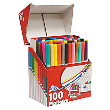 RoseArt Supertip Washable Markers BroadFine Point