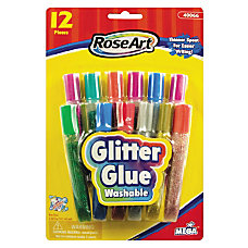 RoseArt Washable Glitter Glue Pens 036
