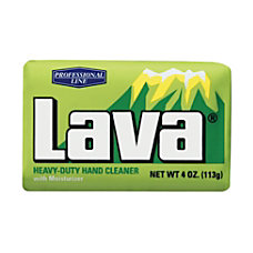 Lava Bar Soap 4 Oz Carton