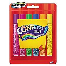 RoseArt Confetti Glitter Glue Sticks 021