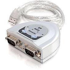 C2G 26478 2 USB Serial Adapter
