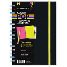 Astrobrights Journal 180 Pages Twin Wirebound