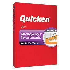 Quicken Premier 2017 Traditional Disc