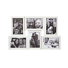 GNBI 6 Photo Collage Frame White