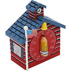 Baumgartens Schoolhouse Timer RED BLUE Yellow
