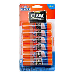 Elmer s Repositionable Glue Sticks 168