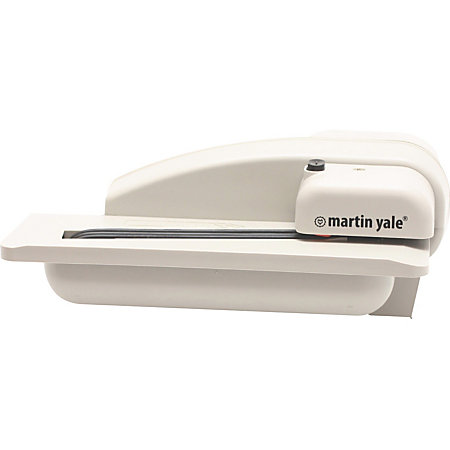 Martin yale premier automatic desktop letter opener for Automatic electric letter opener