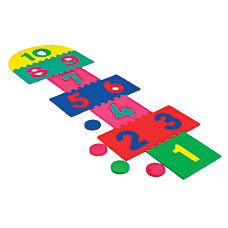 WonderFoam Games Giant Hopscotch Mat