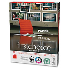 Domtar First Choice MultiUse Letter 850