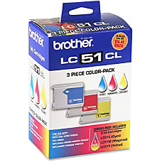 Brother LC513PKS Tri Color Ink Cartridge