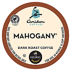 Caribou Coffee Pods Mahogany Coffee K