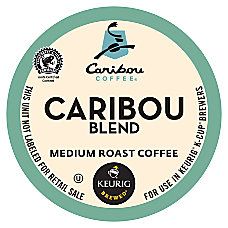 Caribou Coffee Coffee K Cups Box