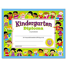 TREND Colorful Classic Kindergarten Diplomas 8