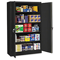 Tennsco Black Jumbo Storage Cabinet 48