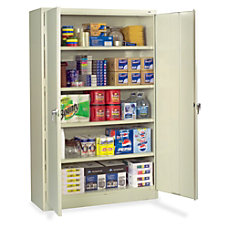 Tennsco Putty Jumbo Storage Cabinet 48