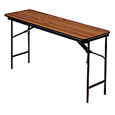 Iceberg Deluxe Folding Table Rectangle 29