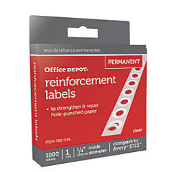 Office Depot Brand Permanent Self Adhesive