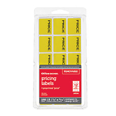 Office Depot Brand Price Tags 34