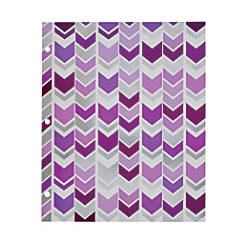 Divoga 2 Pocket Paper Folder Chevron