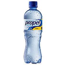 Propel Bottled Drink Beverage Lemon Flavor