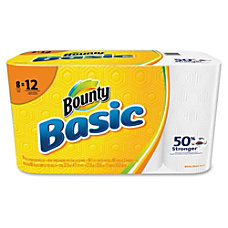 Bounty Basic Paper Towels 1 Ply