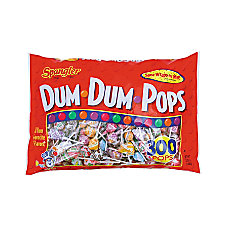 Spangler Candy Dum Dum Pops Assorted