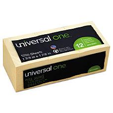 Universal Sticky Notes 1 12 x