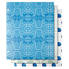 Divoga 2 Pocket Paper Folder Mediterranean