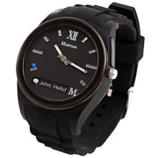 Martian Notifier Smartwatch BlackBlackBlack