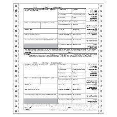 ComplyRight W 2G Tax Forms Continuous