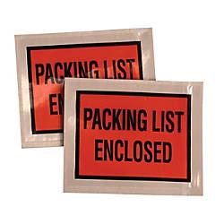 Quality Park Packing List Envelopes w