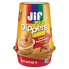Jif To Go Dippers PretzelsCreamy Peanut